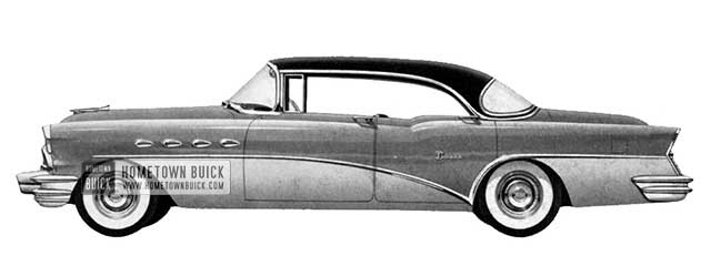 1956 Buick Super Riviera Sedan - Model 53