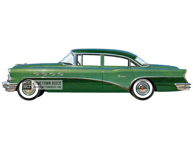 1956 Buick Super Sedan - Model 52 HB