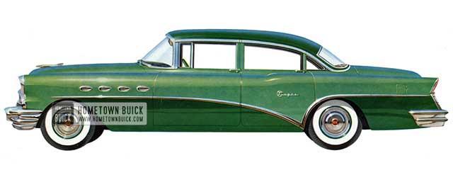 1956 Buick Super Sedan - Model 52