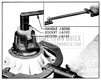 1956 Buick Tightening Pinion Nut