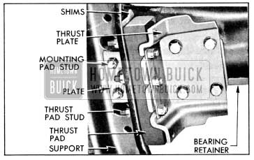 1956 Buick Transmission Mounting-Bottom View