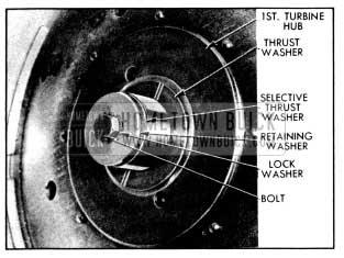 1956 Buick Turbine Retaining Washer and Thrust Washer