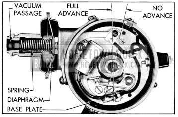 1956 Buick Vacuum Advance Mechanism