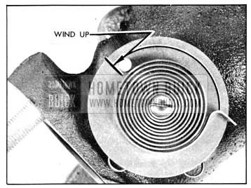 1956 Buick Valve Thermostat Wind-Up