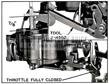 1957 Buick Accelerator Pump Adjustment