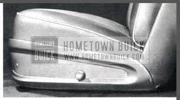 1957 Buick Adjustable Front Seat