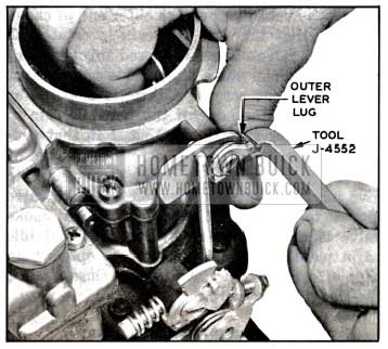 1957 Buick Adjusting Fast Idle Cam Clearance