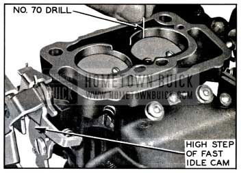1957 Buick Adjusting Fast Idle Speed on Bench