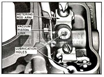 1957 Buick Adjusting Metering Rods