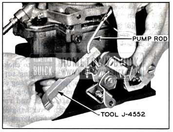 1957 Buick Adjusting Pump Plunger