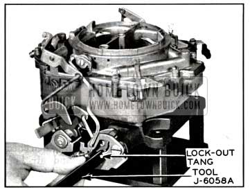 1957 Buick Adjusting Secondary Contour