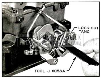 1957 Buick Adjusting Secondary Lock-Out