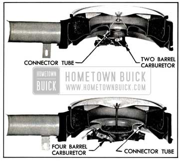 1957 Buick Air Cleaner and Silencer Assemblies