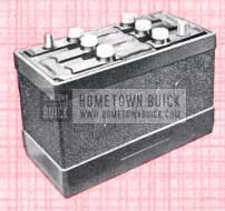 1957 Buick Battery