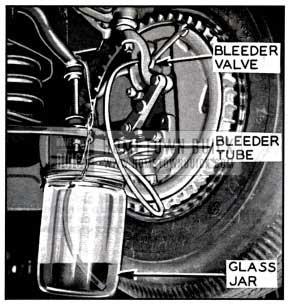 1957 Buick Bleeding Front Wheel Cylinder