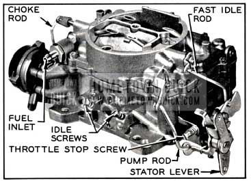 Buick Carter Afb Carburetor Assembly