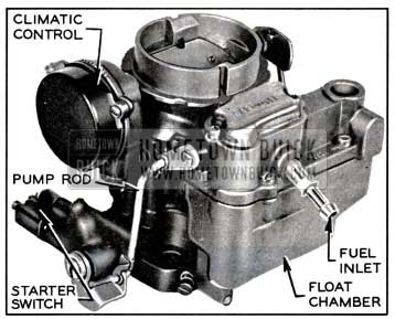 1957 Buick Carter WGD Carburetor Assembly
