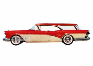 1957 Buick Century Caballero Estate Wagon - Model 69 HB