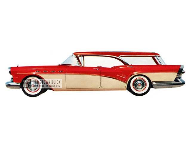 1957 Buick Century Caballero Estate Wagon - Model 69 HB