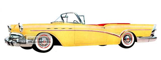 1957 Buick Century Convertible - Model 66C