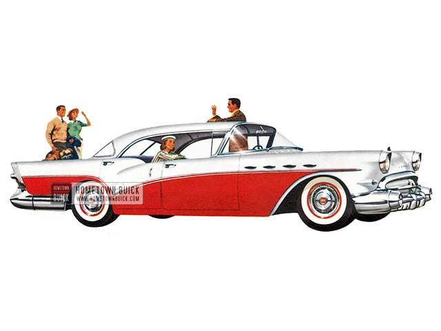 1957 Buick Century Riviera - Model 63 HB
