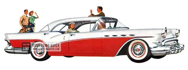 1957 Buick Century Riviera Sedan - Model 63