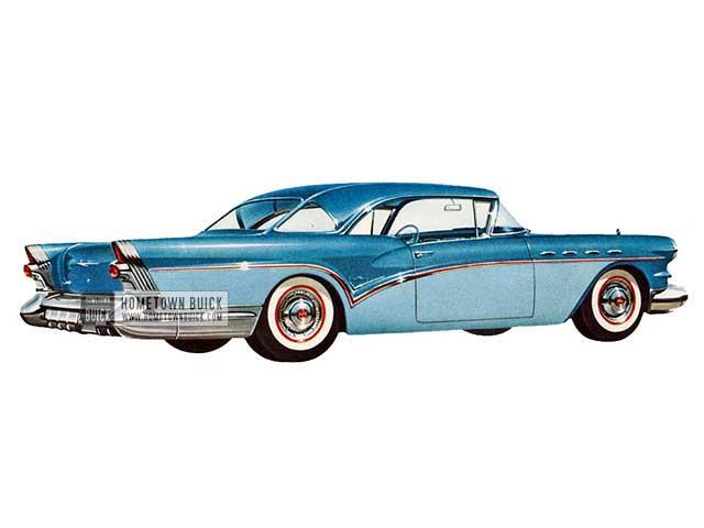 1957 Buick Century Riviera - Model 66R HB