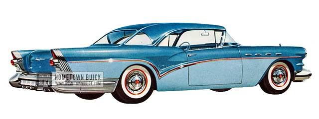 1957 Buick Century Riviera - Model 66R