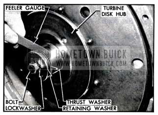 1957 Buick Checking Dynaflow Turbine Clearance