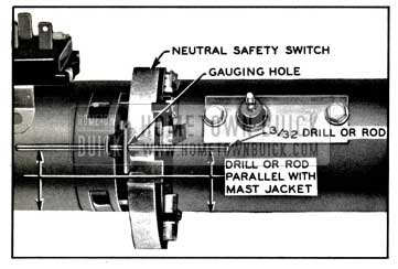 1957 Buick Checking Neutral Safety Switch Timing