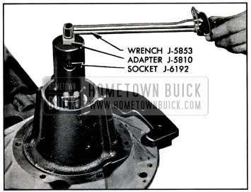 1957 Buick Checking Pinion Bearing Pre-Load