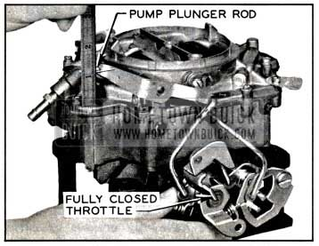 1957 Buick Checking Pump Plunger Adjustment