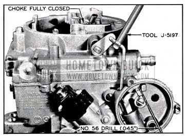 1957 Buick Choke Piston Adjustment