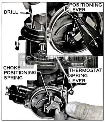 1957 Buick Choke Positioning Lever Adjustment