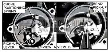 1957 Buick Choke Spring Pick-Up Lever Adjustment