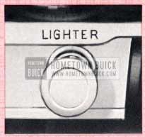 1957 Buick Cigar Lighter