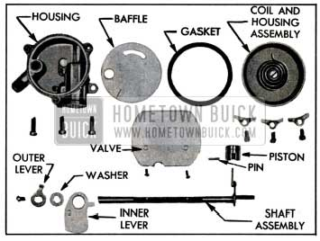 1957 Buick Climatic Control-Disassembled
