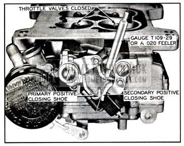1957 Buick Closing Shoe Adjustment