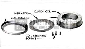 1957 Buick Clutch Coil Disassembled