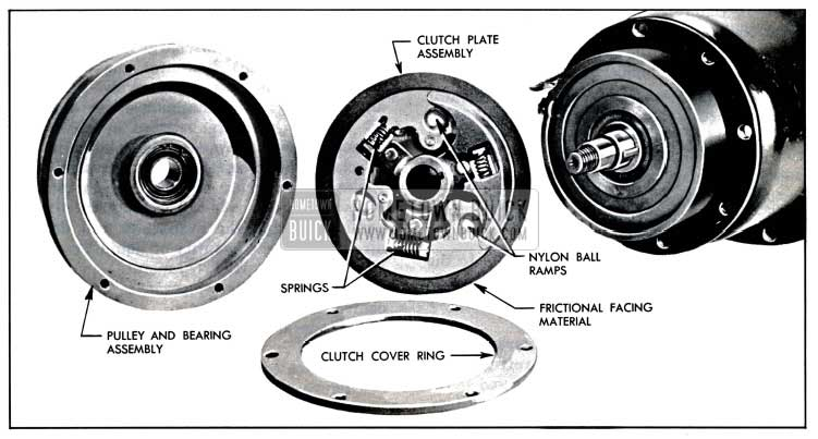 1957 Buick Compressor Clutch and Disc Assembly