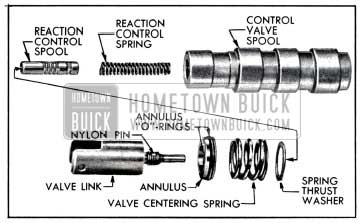 1957 Buick Control Valve Spool Assembly