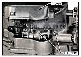 1957 Buick Countershaft Lubrication-Carter
