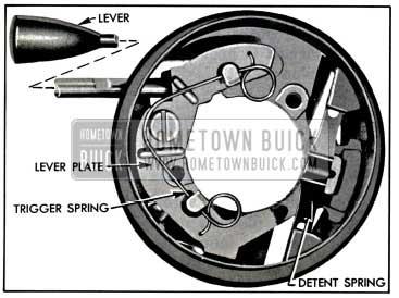 1957 Buick Direction Signal Actuator