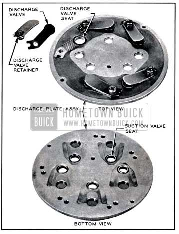 1957 Buick Discharge Plate Assembly