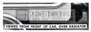 1957 Buick Engine Number Location