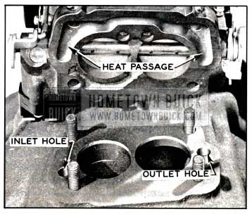 1957 Buick Exhaust Heat Passage