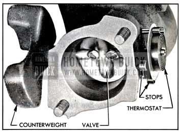 1957 Buick Exhaust Manifold Valve