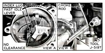 1957 Buick Fast Idle Cam Adjustment