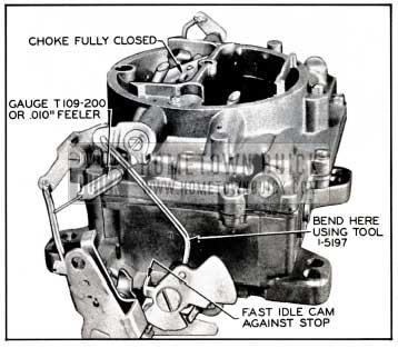 1957 Buick Fast Idle Rod Adjustment
