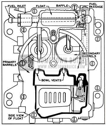 1957 Buick Carter 4 Barrel Carburetor